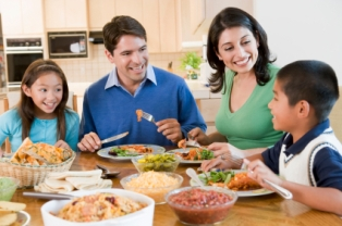 Parents may not have as much of an influence on their children's eating habits after all.