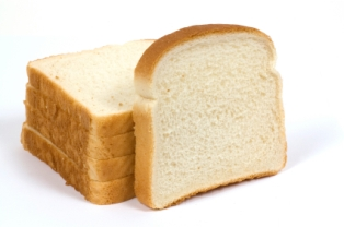 White bread is a refined carbohydrate, which should be consumed in moderation.