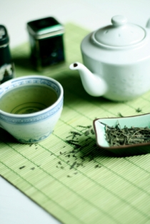 As many as five cups of green tea or more per day is believed to be the best defense from cancer.