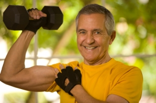 Regardless of age, weightlifting reduces muscle loss